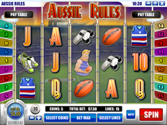 Aussie Rules pokie