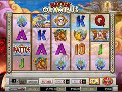 Battle for Olympus pokie