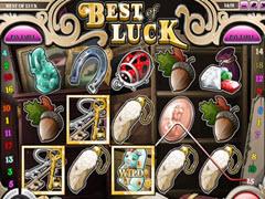 Best of luck pokie