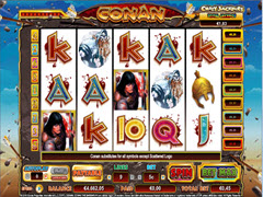 Conan the Barbarian pokie