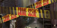 Crime Scene Slot Logo