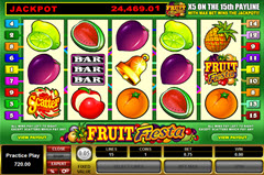 Fruit Fiesta 5 Reel pokie