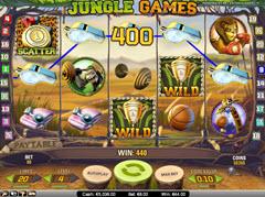 Jungle Games pokie