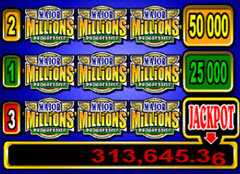 Major Million Paytable