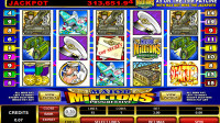 Major Million5 reel pokie