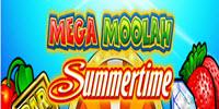 Mega Moolah Summertime logo