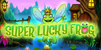 Super Lucky Frog logo