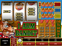 1 Armed Bandit pokie