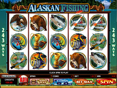 Alaskan Fishing pokie