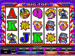 Big Top pokie