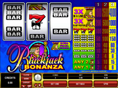 Blackjack Bonanza Pokie
