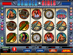 Bomber Girls pokie