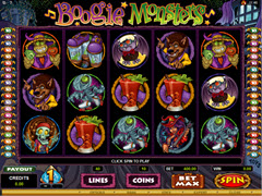 Boogie Monster Pokie