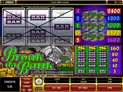 Break Da Bank pokie