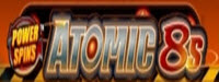 Power Slots - Atomic 8's logo