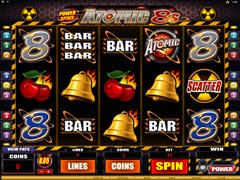 Power Slots - Atomic 8's pokie