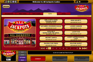 All Jackpots games