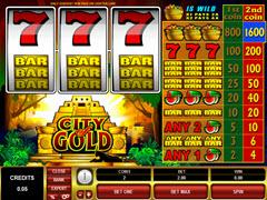City of Gold pokie