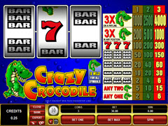 Crazy Crocodile pokie