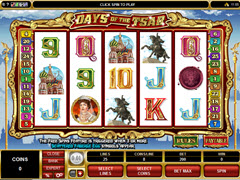 Days of the Tsar pokie