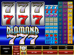 Diamond 7's pokie
