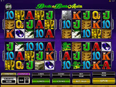 mega spin break da bank again pokie