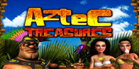 Aztec Treasures logo