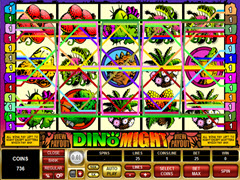 Dino Might pokie