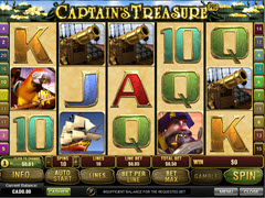 Captain Treasure Pro  pokie