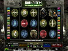 Call of duty 4  pokie