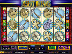 Desert Dreams pokie