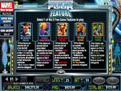 Fantastic Four bonus