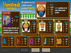 Hamsteads paytable