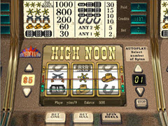 High Noon pokie