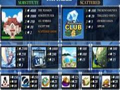 Millionaires Club III paytable