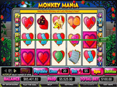 Monkey Mania pokie