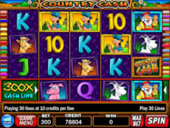 Country Cash pokie