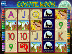 Coyote Moon pokie