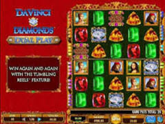 Da Vinci Diamonds Dual Play pokie