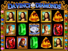 Da Vinci Diamonds pokie