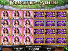 Diamonds of Athens pokie