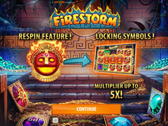 Firestorm bonus game