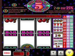 Five Times Pay pokie