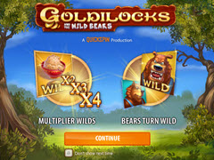 Goldilocks and the Three Bears paytable
