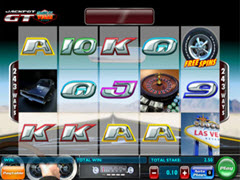Jackpot GT Race to Vegas pokie