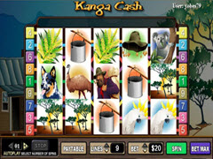 Kanga Cash pokie