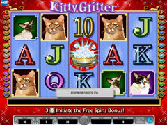 Kitty Glitter pokie