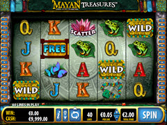 Mayan Treasure pokie