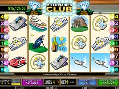 Millionaires Club II pokie