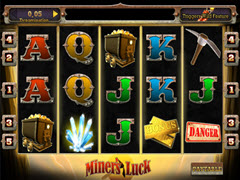 Miners Luck pokie